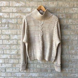 GAP Oversized Boxy Chunky Knit Sweater Size M